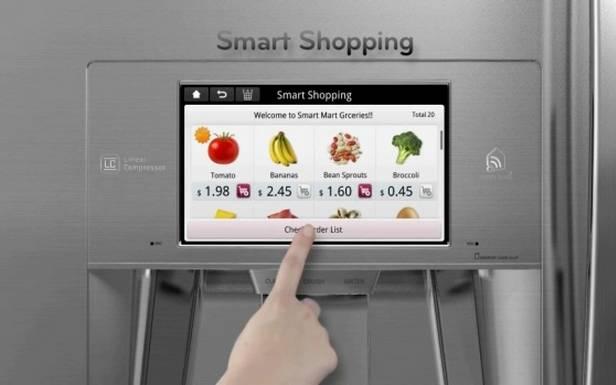 Smart Shopping - łatwe zakupy robione zapomocą lodówki