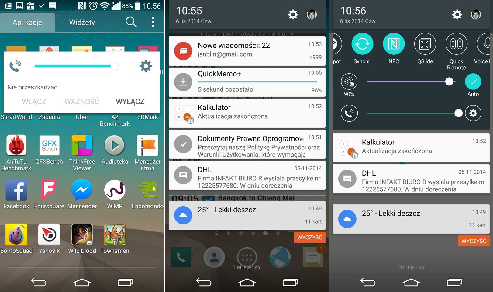 Android 5.0 Lollipop na LG G3 « Life's ...