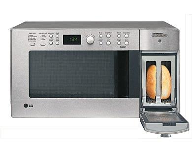 Mikrofalówka LG z... tosterem
