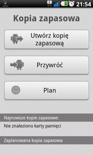 LG Swift UI ? kopia zapasowa