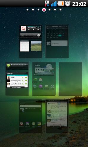 LG Swift UI ? widok wszystkich pulpitów