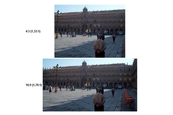 Porównanie obrazów oróżnych proporcjach (Fot. Wikimedia Commons)