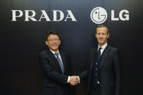 Prada iLG stworzą kolejny telefon (Fot. LG)