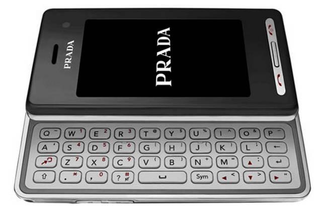 LG Prada 2 zklawiaturą QWERTY