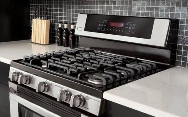 Kuchnia gazowa LRG30855ST (Fot. LG.com)