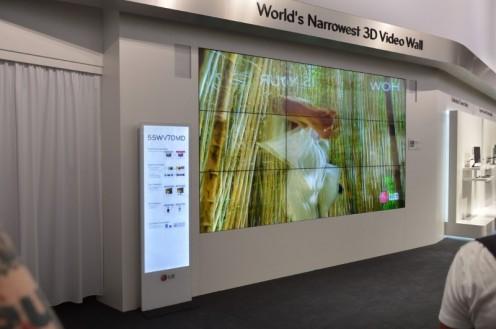 LG - multimedialna ściana (fo. wł)