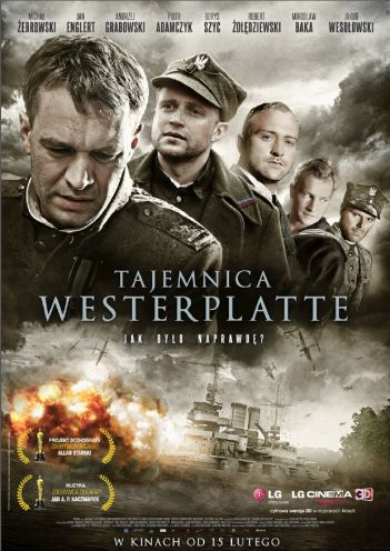 Tajemnica Westerplatte - plakat