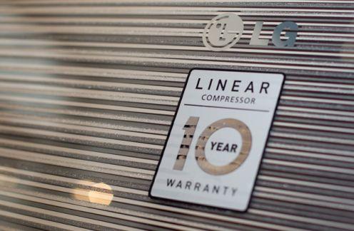 10 lat gwarancji nanową lodówkę LG