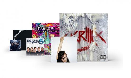Spotify - albumy