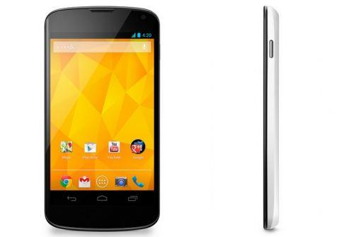 Biały Nexus 4