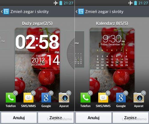 LG Swift L5 - dostosowanie ekranu blokady
