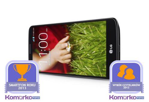 LG G2 telefonem roku według redakcji iczytelników Komórkomanii