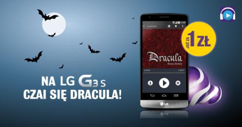 """Audiobook """"Dracula"""" wprezencie dla klientów Play wybierajacych LG G3 s"""