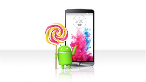 Lollipop dla LG G3