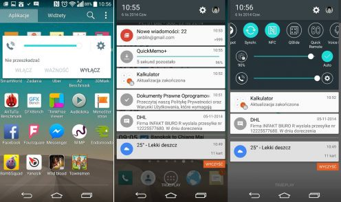 Android 5.0 Lollipop naLG G3