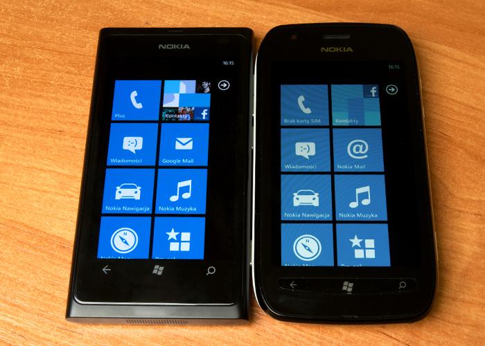 Nokia Lumia 710 i Lumia 800 – czym się różnią?