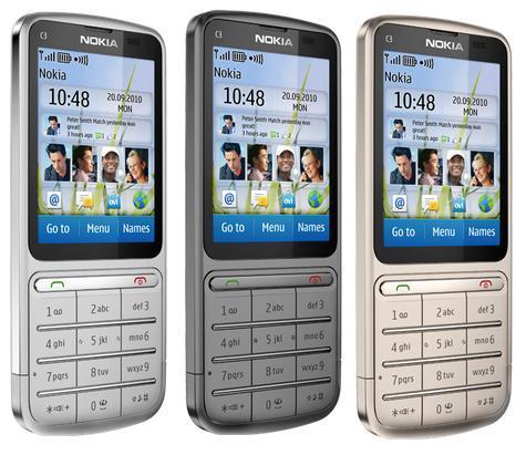 Nokia C3-01 Touch & Type - Nokia C3-01 - pierwsze wrażenia