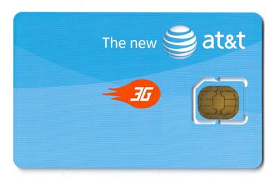 Karta Micro SIM zamerykańskiej sieci AT&T