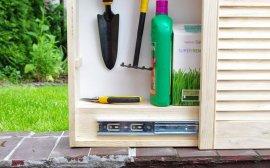 1 - Szafka na narzędzia ogrodowe - część 1