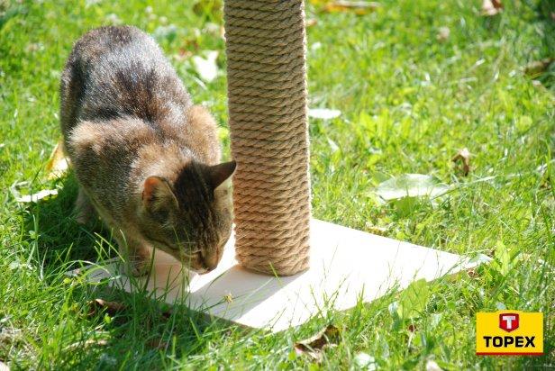 10p-259 - Drapak dla kota - krok po kroku