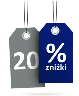 20% zniżki