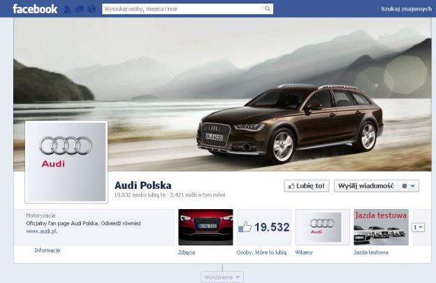 Marki samochodowe naFacebooku