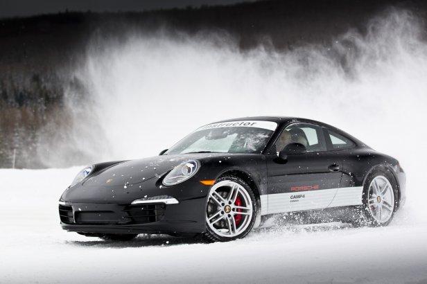 Porsche Camp4 2012 - Przegląd zimowych szkół jazdy