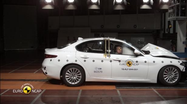 Beztytułu - Alfa Romeo, Seat Ateca i Volkswagen Tiguan w testach zderzeniowych Euro NCAP