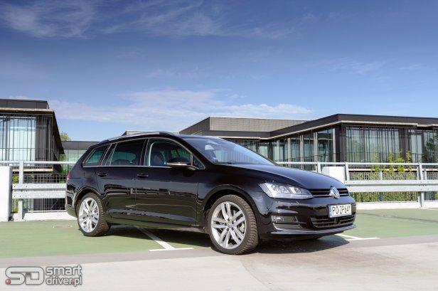 Volkswagen Golf Variant – test SmartDriver (2) - TEST: Volkswagen Golf Variant 1.4 TSI 150 KM DSG