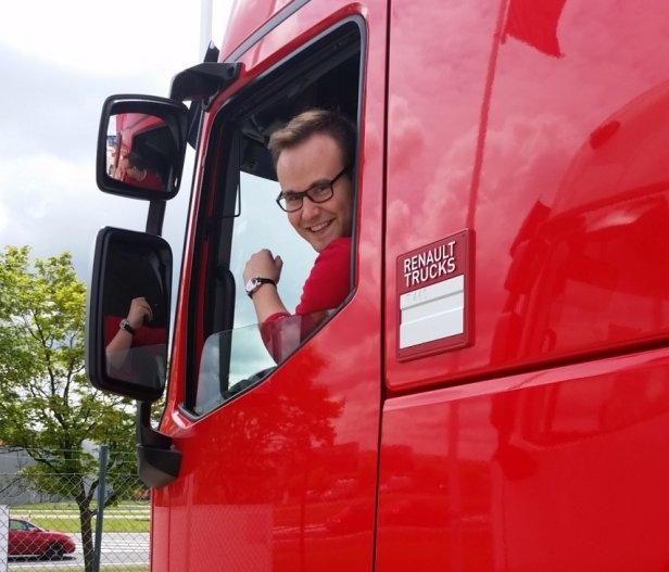 trucker ok - Boję się bezmyślności kierowców aut osobowych [wywiad]